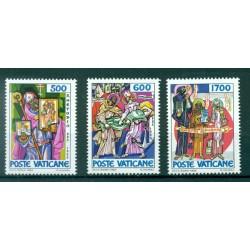 Vatican City 1980 - Mi. n. 759/763 - St. Benedict of Nursia