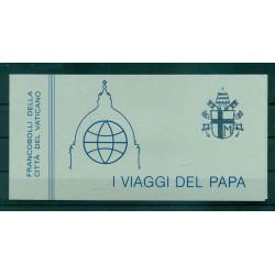 """Vatican 1980 - Mi. n. 764/770 - """"Viaggi del Papa""""  Giovanni Paolo II"""