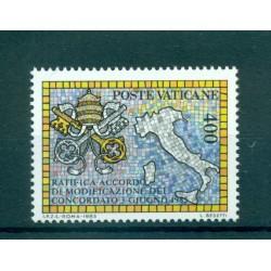 Vatican 1985 - Mi. n. 882 - Concordat entre Sainte Siège et Italie