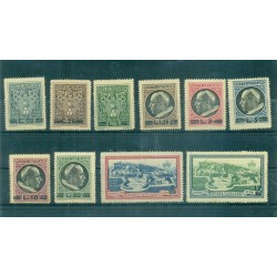 Vaticano 1945 - Y & T n. 120/127 + n. 7/8 espressi - Serie ordinaria