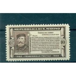 50th GARIBALDI - SAN MARINO 1932 Mi. 184 10 Cent.