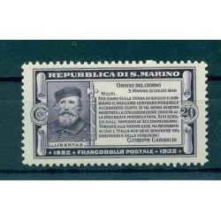 50th GARIBALDI - SAN MARINO 1932 Mi. 185 20 Cent.
