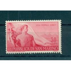 GIORNO DEL LAVORO - LABOUR DAY SAN MARINO 1948 Mi 399 30 Lire
