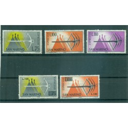 San Marino 1965/1966 - Y&T n. 25/29 - Espressi