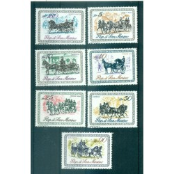 ANCIENS VEHICULES A CHEVAUX - HORSE-DRAWN CARRIAGES POLAND 1965