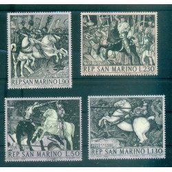 CHEVAUX - HORSES HUNGARY 1968 set A