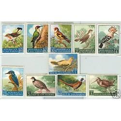UCCELLI TIPICI - TYPICAL BIRDS SAN MARINO 1960