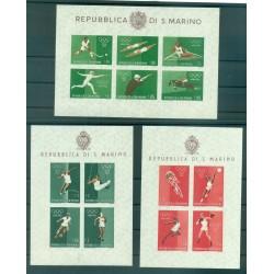 San Marino 1960 - Mi. n. Bl. 5/7 - Olimpiadi di Roma