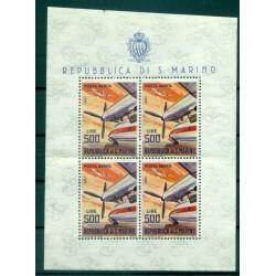 San Marino 1965 - Mi. n. 829 Kb - Planes ROLLS-ROYCE Dart