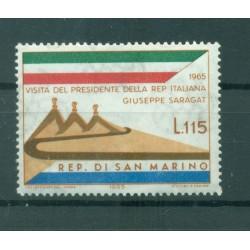 San Marino 1965 - Mi. n. 849 - Visit of President Saragat