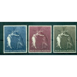 San Marino 1968 - Mi n. 918/920 - Christmas