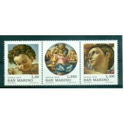 Saint-Marin 1975 - Mi n. 1102/1104 - Noël