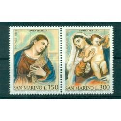 Saint-Marin 1976 - Mi n. 1125/1126 - Noël