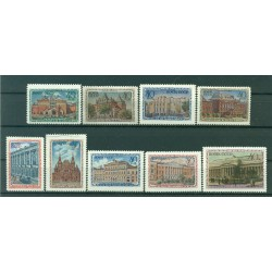 USSR 1950 - Y & T n. 1414/22 - Moscow Museums