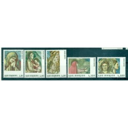 Saint-Marin 1975 - Mi. n. 1090/1094 - Année Sainte, Giotto