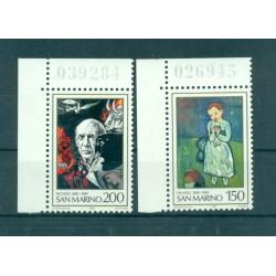 Saint-Marin 1981 - Mi. n. 1242/1243 - Picasso