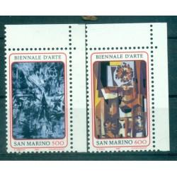 "Saint-Marin 1987 - Mi. n. 1359/1360 - ""Biennale d'Arte"""