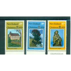 Nouvelle Zélande 1979 - Mi. n. 779/781 - Noël
