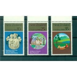 Nouvelle Zélande 1980 - Mi. n. 807/809 - Noël