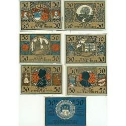 OLD GERMANY EMERGENCY PAPER MONEY - NOTGELD Ettenheim 1922