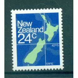 New Zealand 1982 - Mi. n. 840 A - Map