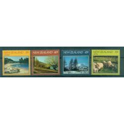 New Zealand 1982 - Mi. n. 845/848 - Landscapes