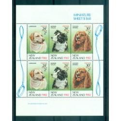 New Zealand 1982 - Mi. n. 849/851 KB - Dogs,  Health Care