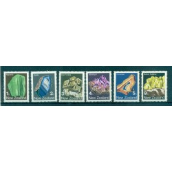 New Zealand 1982 - Mi. n. 855/860 - Minerals