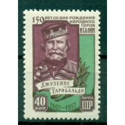 URSS 1957 - Y & T n. 2004 - Giuseppe Garibaldi