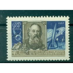 URSS 1957 - Y & T n. 1966 - Konstantin Tsiolkovsky
