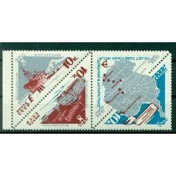 URSS 1966 - Y & T n. 3065/67 - Esplorazione dell'Antartide