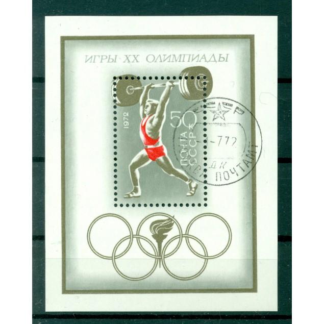 USSR 1972 - Y & T sheet n. 76 - Munich Olympics
