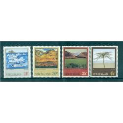 Nouvelle Zélande 1983 - Mi. n. 870/873 - Peintures