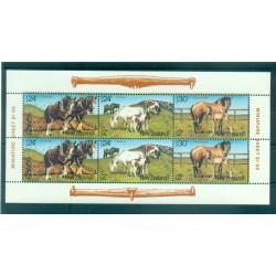 Nouvelle Zélande 1984 - Mi. n. 906/908 KB - Chevaux, Santé