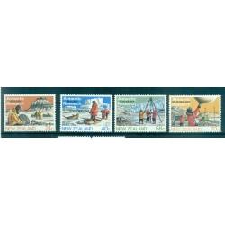 Nouvelle Zélande 1984 - Mi. n. 889/892 - Recherches antarctiques