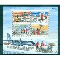 Nouvelle Zélande 1984 - Mi. n. Bl 5 - Recherches antarctiques