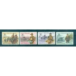 Nouvelle Zélande 1984 - Mi. n. 912/915 - Troupes