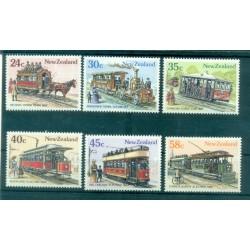 Nouvelle Zélande 1985 - Mi. n. 919/924 - Tramways
