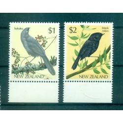 Nouvelle Zélande 1985 - Mi. n. 931/932 - Oiseaux