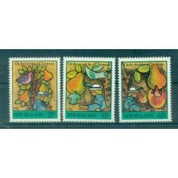 Nouvelle Zélande 1986 - Mi. n. 971/973 - Noël