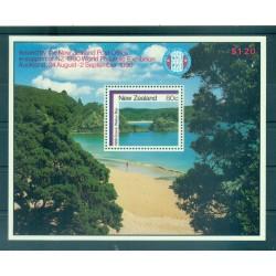 Nouvelle Zélande 1986 - Mi. n. Bl 8 - Paysages: Baies