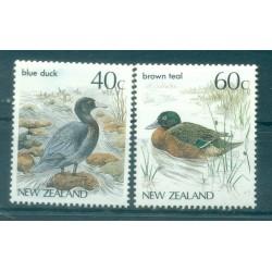 Nouvelle Zélande 1987 - Mi. n. 984/985 - Oiseaux