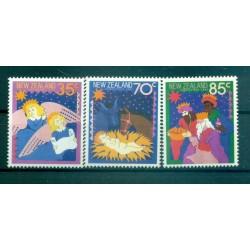 Nouvelle Zélande 1987 - Mi. n. 1003/1005 - Noël