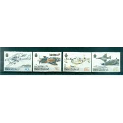 Nouvelle Zélande 1987 - Mi. n. 992/995 - Avions militaires
