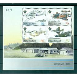 Nouvelle Zélande 1987 - Mi. n. Bl 10 - Avions militaires