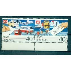 Nouvelle Zélande 1987 - Mi. n. 990/991 - Journée de la Poste
