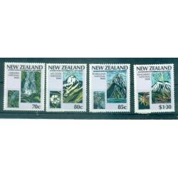 Nouvelle Zélande 1987 - Mi. n. 996/999 - Parcs nationaux