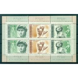 USSR 1975 - Y & T  n. 4119/24 - Michelangelo