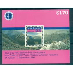 Nouvelle Zélande 1988 - Mi. n. BL 15 - Paysages: Montagnes