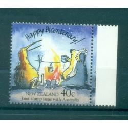 Nouvelle Zélande 1988 - Mi. n. 1032 - Bicentenaire de l'Australie